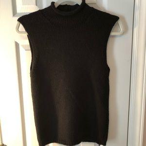 Malo 100% Cashmere Turtleneck Black Size 42